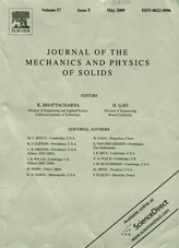 Journal of The Mechanics and Physics of Solids 05/2009