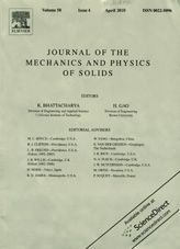 Journal of The Mechanics and Physics of Solids 04/2010